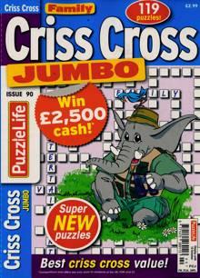 Family Criss Cross Jumbo Magazine NO 90 Order Online