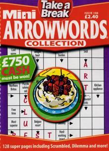 Tab Mini Arrowwords Coll  Magazine NO 108 Order Online