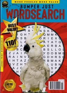 Bumper Just Wordsearch Magazine NO 227 Order Online
