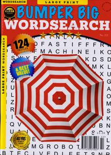 Bumper Big Wordsearch Magazine NO 222 Order Online