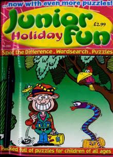 Junior Holiday Fun Magazine NO 284 Order Online