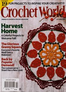 Crochet World Magazine OCT 20 Order Online