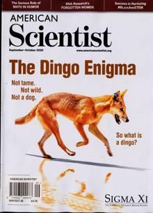 American Scientist Magazine SEP-OCT Order Online