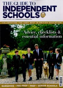 Independant Schools Guide Magazine AUTUMN Order Online