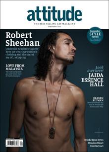 Attitude 326 - Robert Sheehan Magazine Issue ROBERT