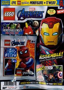 Lego Superhero Legends Magazine Issue SPIDERMAN