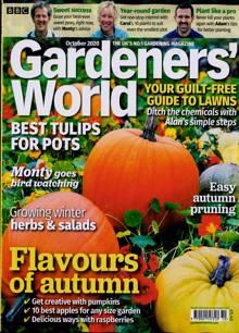 Bbc Gardeners World Magazine OCT 20 Order Online