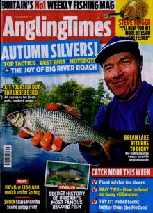Angling Times Magazine 22/09/2020 Order Online