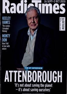 Radio Times London Edition Magazine 26/09/2020 Order Online