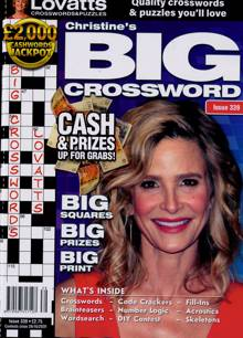 Lovatts Big Crossword Magazine NO 339 Order Online