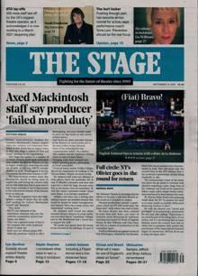 Stage Magazine 24/09/2020 Order Online