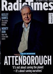 Radio Times South Magazine 26/09/2020 Order Online