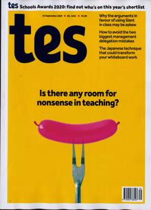 Times Educational Supplement Magazine 25/09/2020 Order Online
