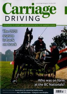 Carriage Driving Magazine OCT-NOV Order Online