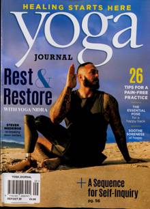 Yoga Journal Magazine Issue SEP-OCT
