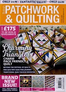 British Patchwork & Quilting Magazine OCT 20 Order Online