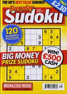 Everyday Sudoku Magazine NO 179 Order Online