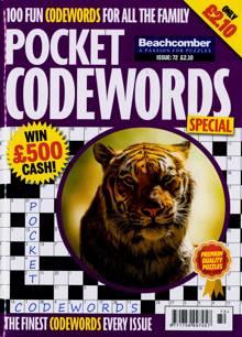Pocket Codewords Special Magazine NO 72 Order Online