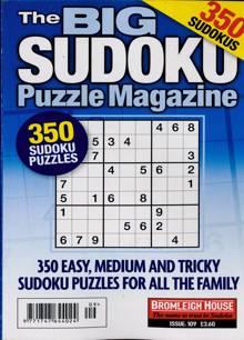 Big Sudoku Puzzle Magazine NO 109 Order Online