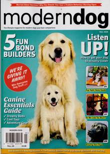 Modern Dog Magazine AUTUMN Order Online