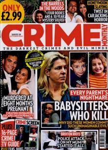 Crime Monthly Magazine NO 19 Order Online