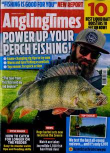 Angling Times Magazine 29/09/2020 Order Online