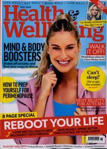 Health And Wellbeing Magazine NOV 20 Order Online