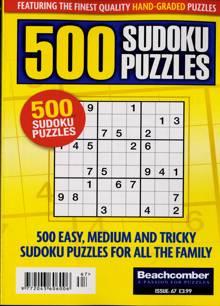 500 Sudoku Puzzles Magazine NO 67 Order Online