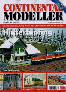 Continental Modeller Magazine DEC 20 Order Online