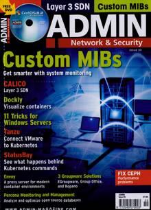 Admin Magazine NO 59 Order Online