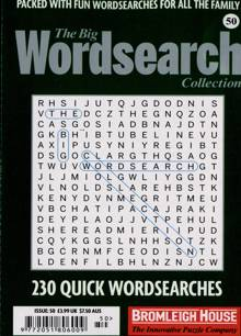 Big Wordsearch Collection Magazine NO 50 Order Online