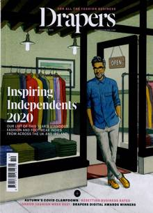 Drapers Magazine Issue OCT 20