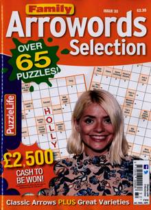 Family Arrowords Selection Magazine Issue NO 32