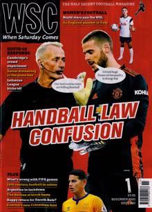 When Saturday Comes Magazine Issue NOV 20
