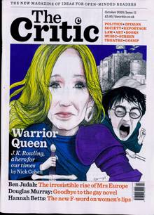 Critic (The) Magazine OCT 20 Order Online