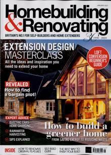 Homebuilding & Renovating Magazine JAN 21 Order Online