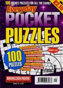 Everyday Pocket Puzzle Magazine Issue NO 141