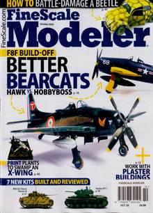 Fine Scale Modeler Magazine Issue OCT 20