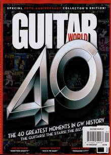 Guitar World Magazine Issue 40 GREATST