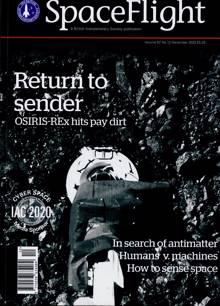 Spaceflight Magazine DEC 20 Order Online