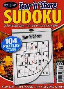 Eclipse Tns Sudoku Magazine NO 31 Order Online