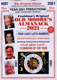 Old Moores Almanack Magazine 2021 (2) Order Online