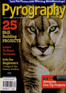 Woodcarving Illustrated Magazine PYROGRPHY Order Online