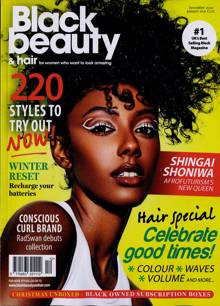 Black Beauty & Hair Magazine Issue DEC-JAN