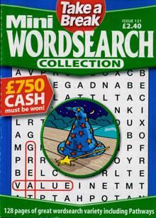 Tab Mini Wordsearch Coll Magazine Issue NO 121