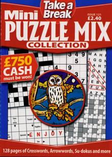 Tab Mini Puzzle Mix Coll Magazine Issue NO 121