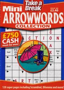 Tab Mini Arrowwords Coll  Magazine Issue NO 109