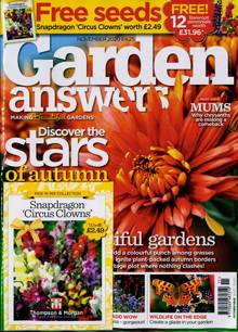 Garden Answers Magazine Issue NOV 20