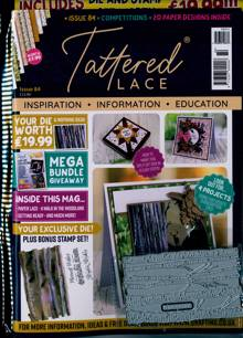 Tattered Lace Magazine NO 84 Order Online