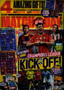 Match Of The Day  Magazine NO 613 Order Online